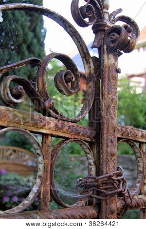 Rusty Iron Gate