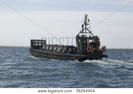 Royal Marine landing craft, Portland Harbour
