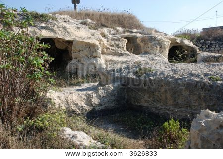 Caves At The Poetry In Puglia
