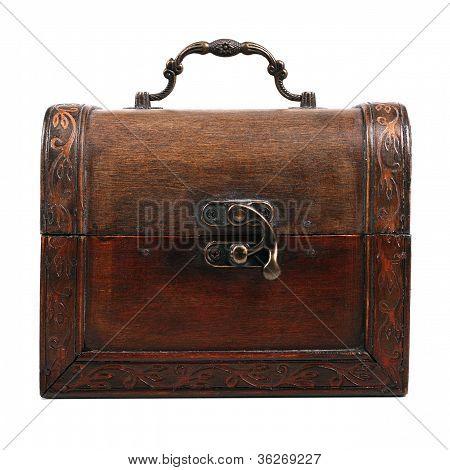 Arcón de madera antiguo