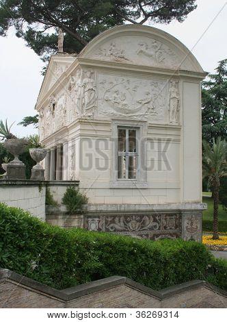 Nympheum, Villa Pia, Vatican City