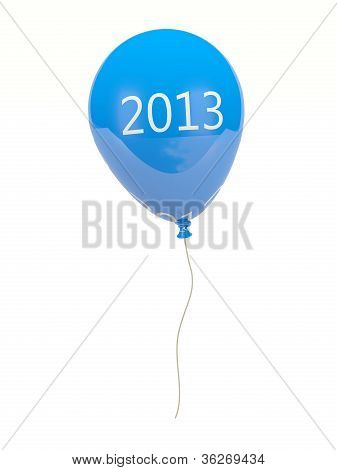 New year air balloon