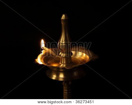 Traditional Oil Lamp