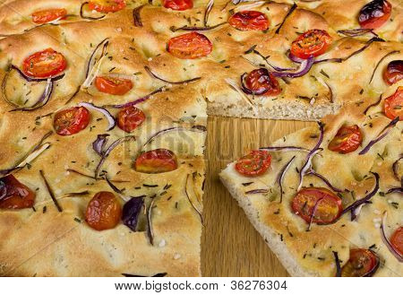 A Slice Of Foccacia