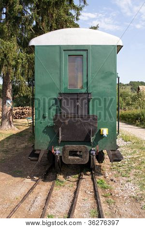 Old Passenger Railroad Car