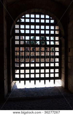 Puerta de la fortaleza