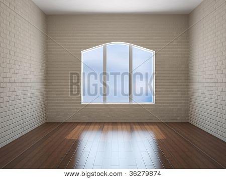 Room With Brick Walls