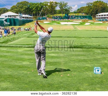 Tiger Woods no 2012 Barclays