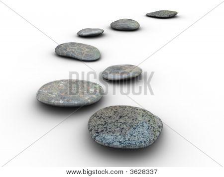 Stones Aligned 1