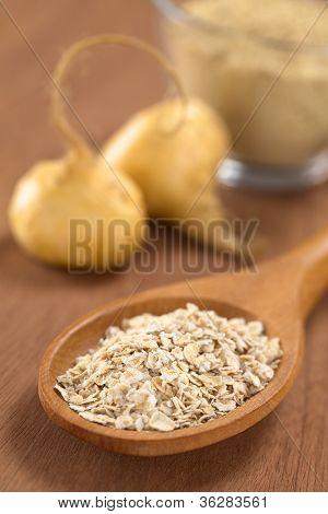 Oatmeal with Maca Powder