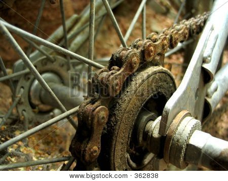 Rusted Bmx Gear