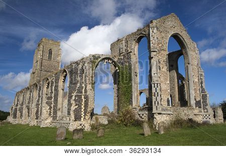 St Andrew's Church, Covehithe, Suffolk, England