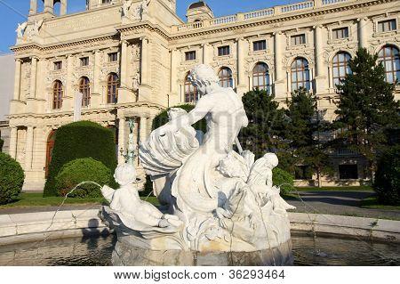 Kunsthistorisches (natural History Museum) Museum In Vienna, Austria
