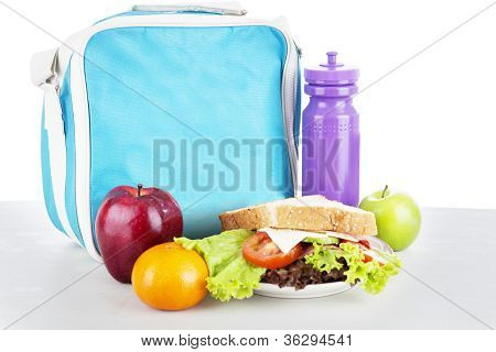 A Packed School Lunch