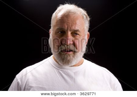 Shot Of An Elderly Man