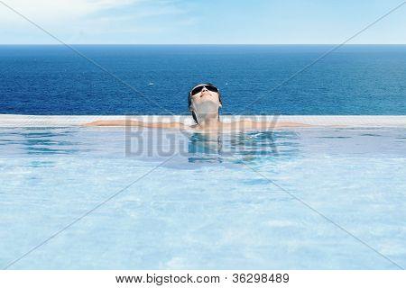 Woman Enjoying Summer Day