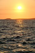 image of luka  - Sea and sunset in Croatia Vala Luka - JPG