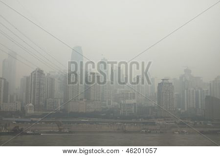 The Yangtze River In Chongqing