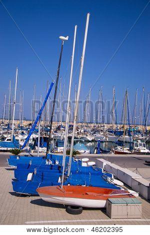 The Yachts At The Coast Tel-aviv