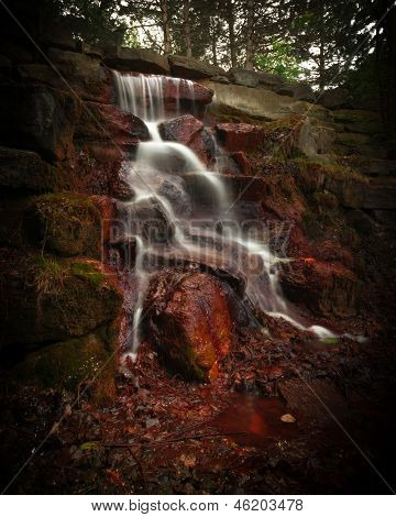 Timed Exposure Cascading Waterfall