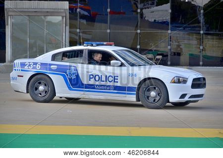 Montreal Police Service car