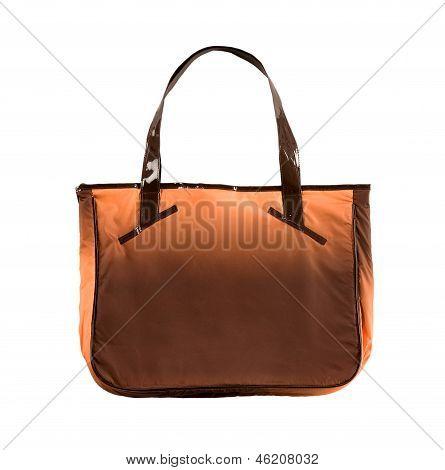 Tie Dye Orange Handbag