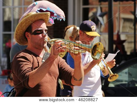 Musicians At Cinqo De Mayo Parade