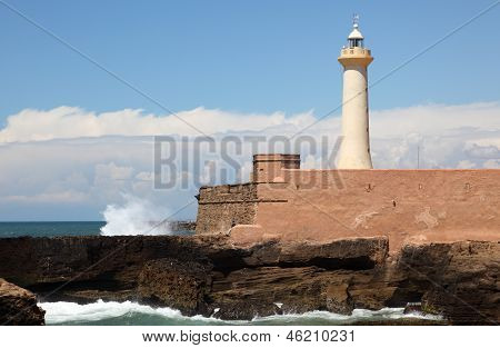 Lighthouse in Rabat, Morocco
