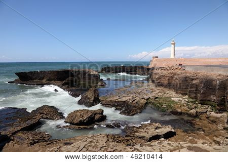 Atlantic Coast Of Rabat, Morocco