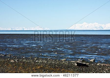 A vista de Anchorage