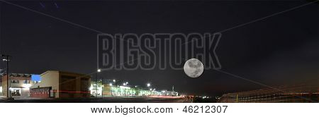 South Jeddah at night