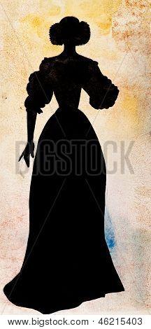 Female Court Dress