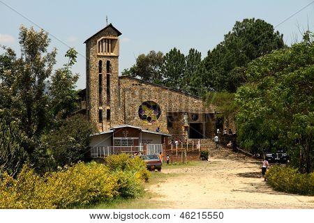 Genocide Memorial Church In Kibuye, Rwanda