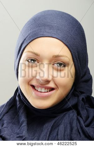 Young Arabic beautiful female portrait