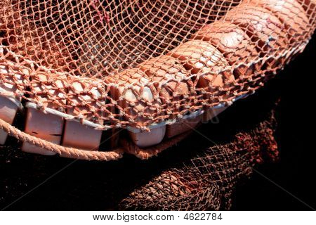 Floaters And Fishing Net