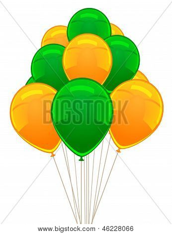 Vector ballon for party, birthday