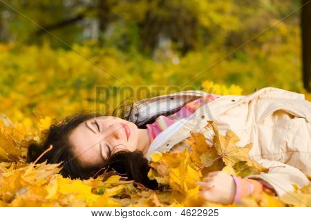 Autumn Fashion Pretty Woman