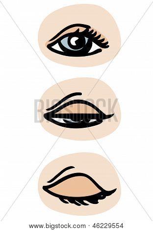 Centelleo de ojos