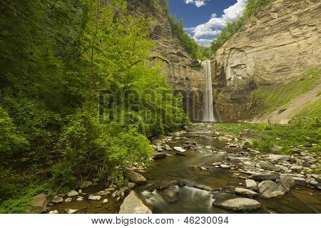 Waterfall And Gorge