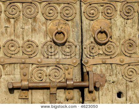 Romanesque Church Door
