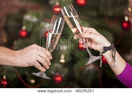 Christmas New Year's Toast