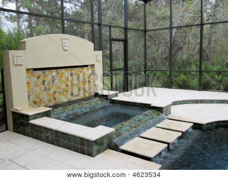 Swimming Pool Fountain / Hot Tub