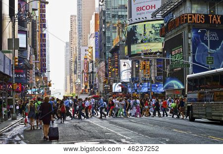 Hustle Bustle Manhattan