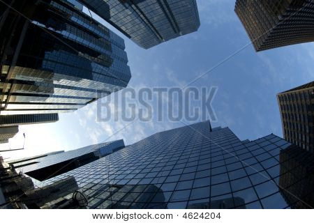 Downtown Skyscrapers