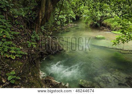 Rio Celeste-borbollone