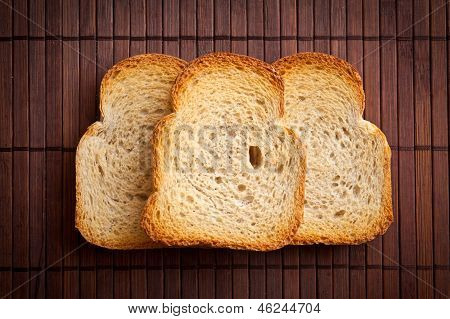 White Bread Toast.