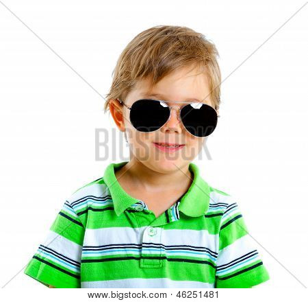 Boy in the sunglasses