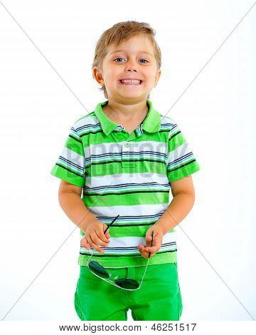Boy in the sunglasses