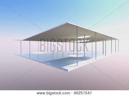 Conceptual Modern Building