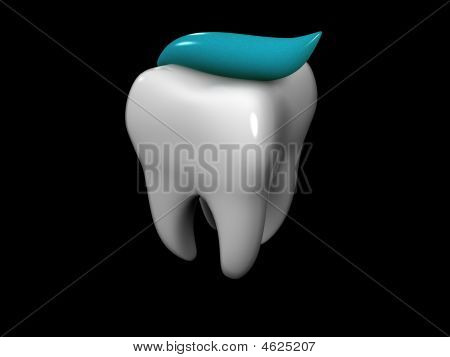 Tooth And Toothpaste